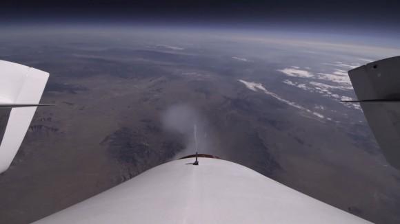 Компания Virgin Galactic показала материал с бортового самописца SpaceShipTwo (видео)