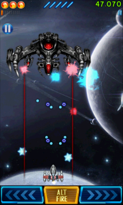 Space Falcon Reloaded 1.3 Экшн