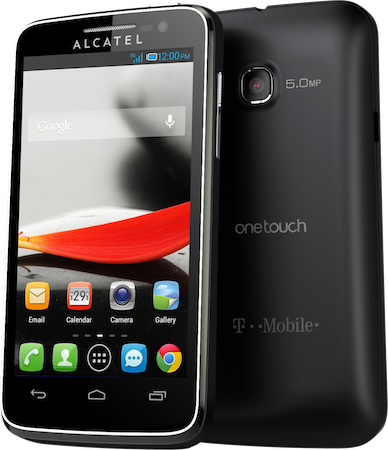 One Touch Evolve и One Touch Fierce - бюджетные смартфоны от Alcatel (2 фото)