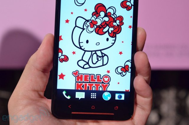 HTC's Butterfly S получил корпус Hello Kitty (19 фото)
