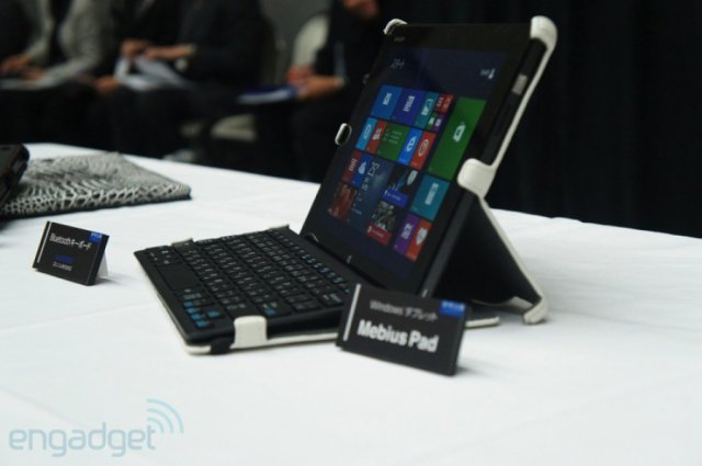 Mebius Pad - планшет на Windows 8 от компании Sharp (8 фото)