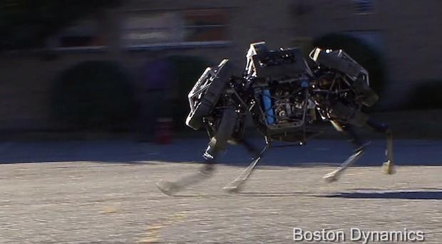 WildCat - новое поколение роботов от Boston Dynamics (видео)