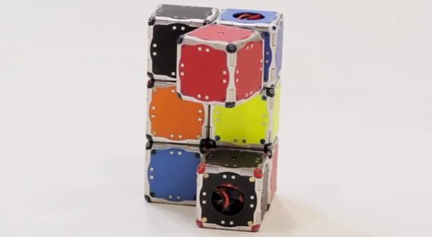 Самоорганизующиеся роботы от MIT (видео)