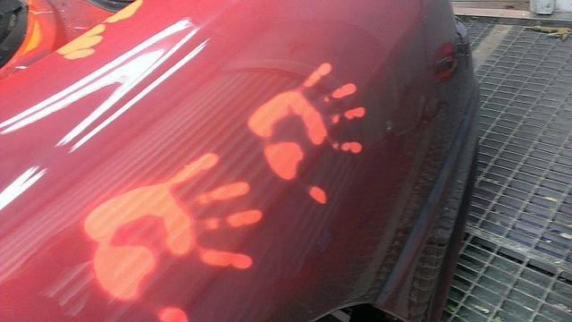 Машина меняет цвет с пульта видео