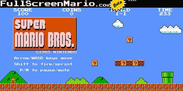 Супер Марио на любом компьютере