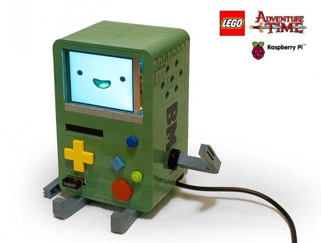 Lego-версия Adventure Time BMO