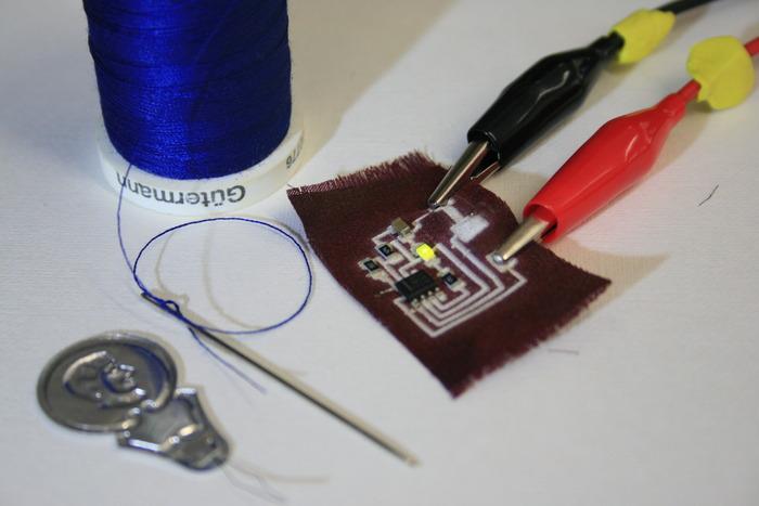 Печать электронных схем на