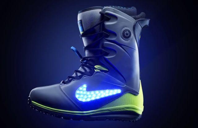 73e3118c Светящиеся ботинки для сноубордистов от Nike (видео) » 24Gadget.Ru ...