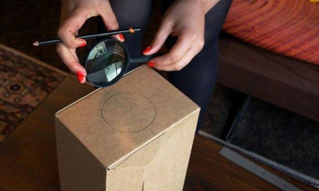 Самодельный проектор из смартфона (10 фото)