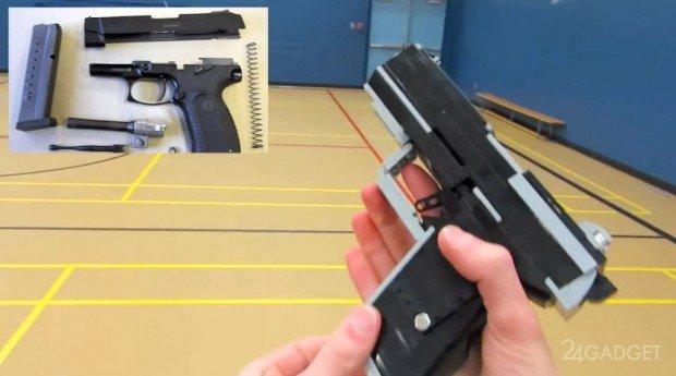 инструкция по сборке пистолета из лего видео - фото 11