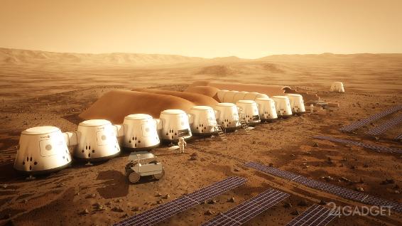 Частный проект по освоению Марса готовится к запуску беспилотного аппарата (3 фото + видео)