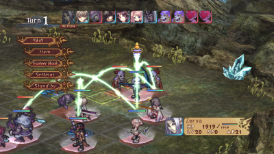 Record of Agarest War 1.02 РПГ