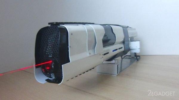Лазерное ружьё с водяным охлаждением (3 фото + видео)
