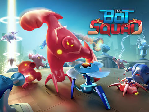 The Bot Squad 1.1.0 Стратегия с элементами головоломки