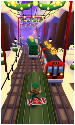 Subway Surfers 1.18.1.0 Аркада