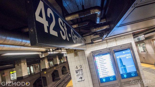 Сенсорные схемы метро в