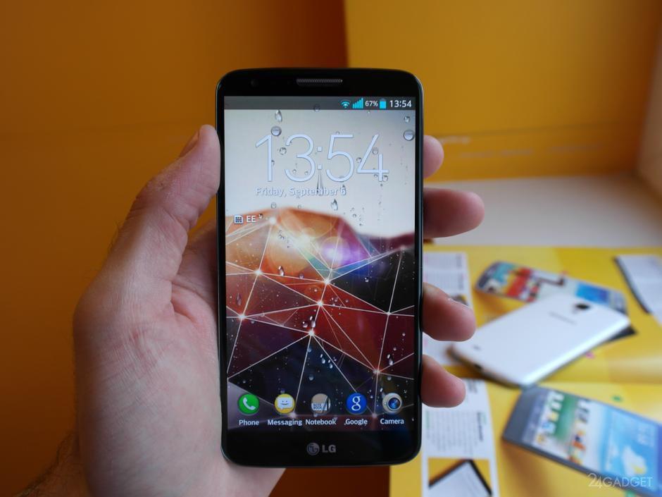 Небольшой обзор неанонсированного флагманского смартфона LG G3 (6 фото)