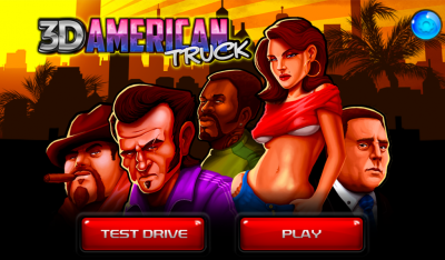 American Great Truck 3D 1.3 Аркада, Гонки