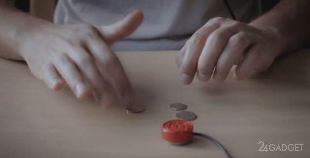 Вибрационный музыкальный инструмент для смартфона (5 фото + 2 видео)