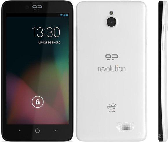 Смартфон с двумя операционными системами вышел в продажу (5 фото)