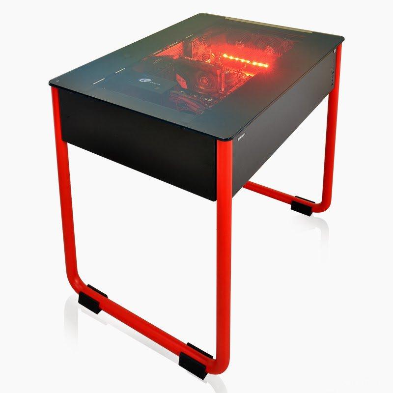 """Компьютерный стол с системным блоком """" xpresstime."""