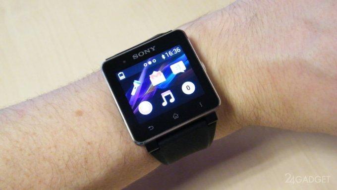 Обзор новых умных часов Sony Smartwatch 2