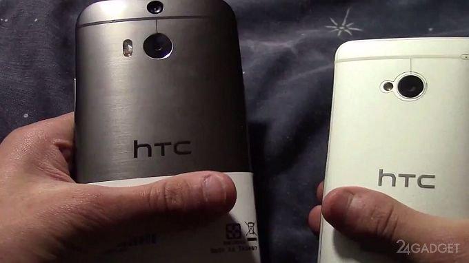 Неофициальная презентация смартфона HTC One M8 (видео)