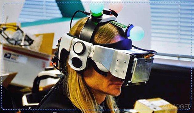 Компания Sony официально представила свой шлем виртуальной реальности (4 фото)