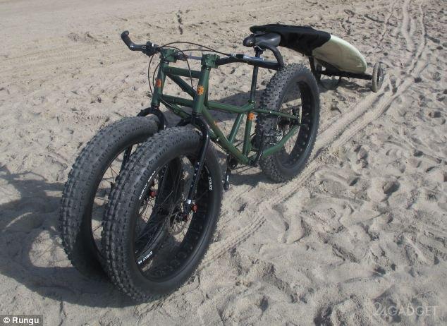 Трёхколесный вело-вездеход (3