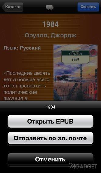 Скачать библиотеки электронных книг в формате epub