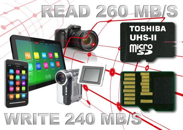 Сверхскоростные карты памяти microSD стандарта UHS3 (2 фото)