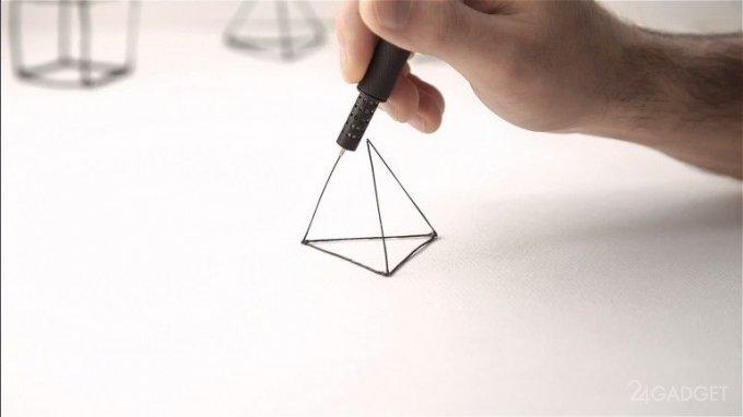 Компактная ручка-3D-принтер (7 фото + видео)