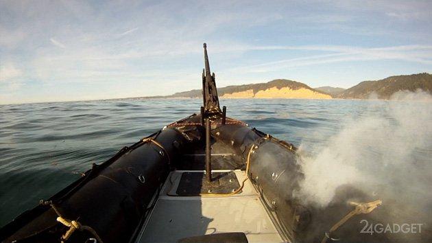 Американские военные продолжают играть с лазерным оружием (видео)