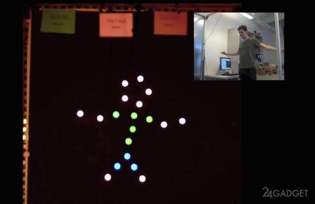 Pixelbots - рой роботов, которые создают изображения (видео)