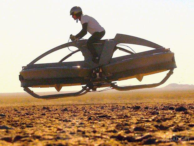 Aero-X - летающий байк скоро в продаже (видео)