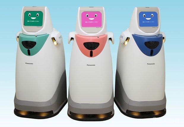 Panasonic делает роботов для больницы (видео)