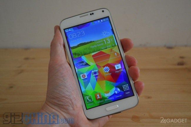 Китайский клон Samsung Galaxy S5 за смешные деньги (7 фото + видео)