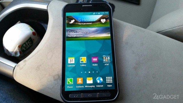 Первое видео со смартфоном Galaxy S5 Active