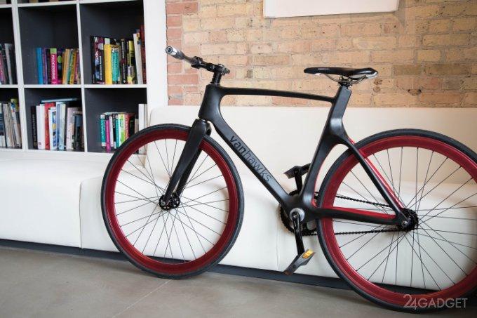 Концепт умного велосипеда Vanhawks (видео)