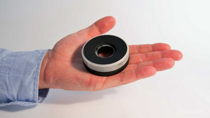 Компактная HD-камера с обзором 360 градусов (видео)