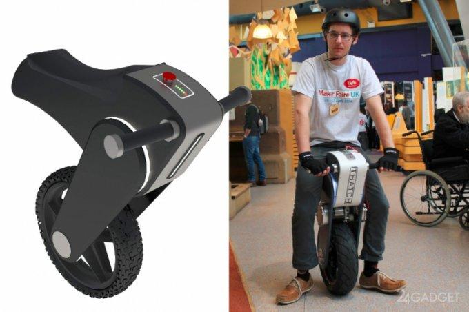 Jackal - электрический моноцикл с Arduino (видео)