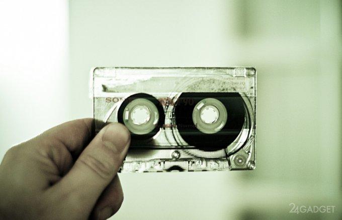 Sony создала компакт-кассету на 185 ТБ
