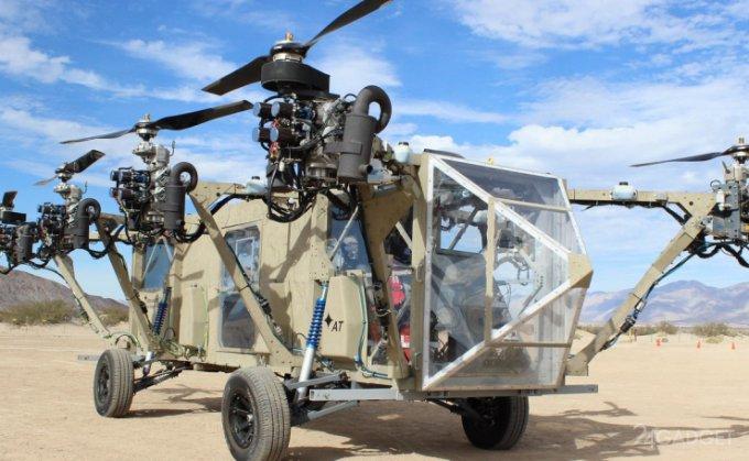 Летающий джип для американских военных (видео)