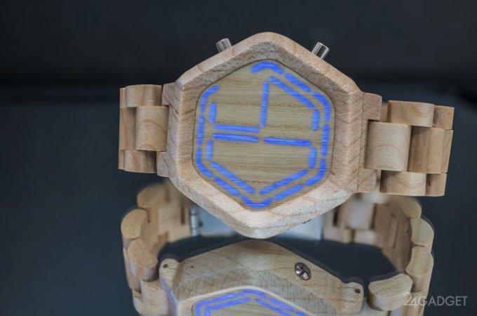 Часы Tokyoflash, по которым не нужно угадывать время (2 фото + видео)