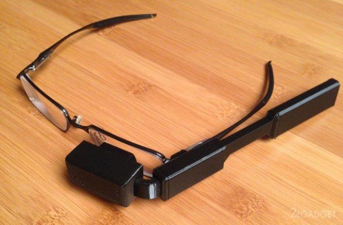 Доступная альтернатива Google Glass (2 фото + видео)