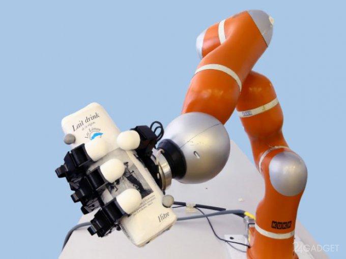 Робот с отличной реакцией (видео)