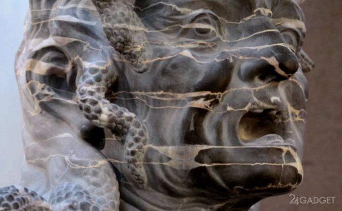 3D-сканирование будут использовать для восстановления древних скульптур (видео)