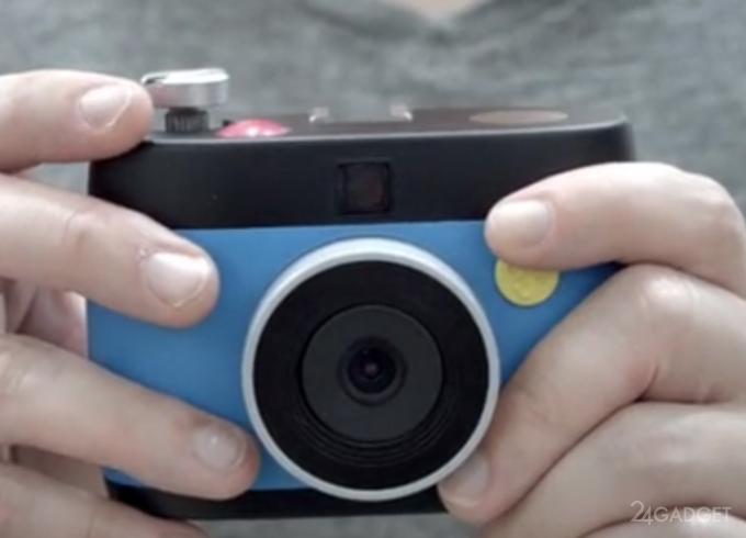 Фотоаппарат, снимающий в формате GIF (3 фото + видео)