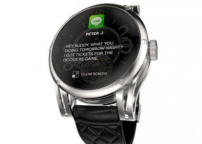 Гибрид умных и механических наручных часов (3 фото + видео)