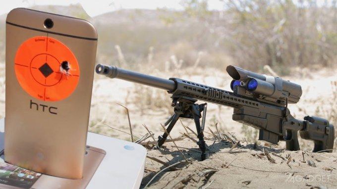 Роботизированная винтовка поразила цель на расстоянии 1000 метров (видео)